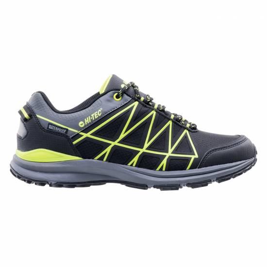 Pantofi sport barbati HI-TEC Laris WP/ Negru/Verde