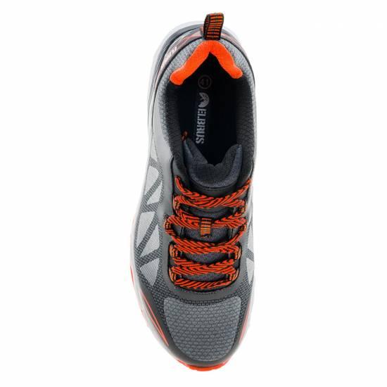 Pantofi sport barbati ELBRUS Saratos.Gri/Negru/Portocaliu