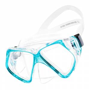 Masca Snorkeling AQUAWAVE Opal, Albastru