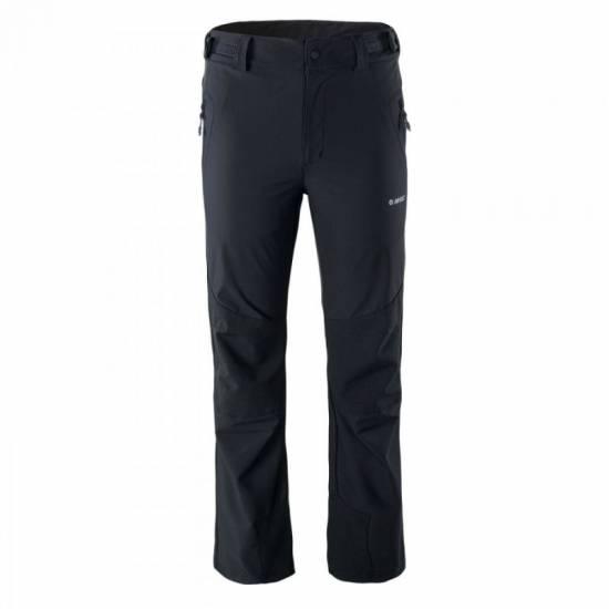 Pantaloni softshell pentru barbati HI-TEC Epir stretch limo