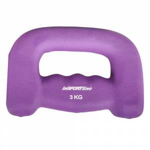 Gantera Neopren pentru jogging inSPORTline 3 kg