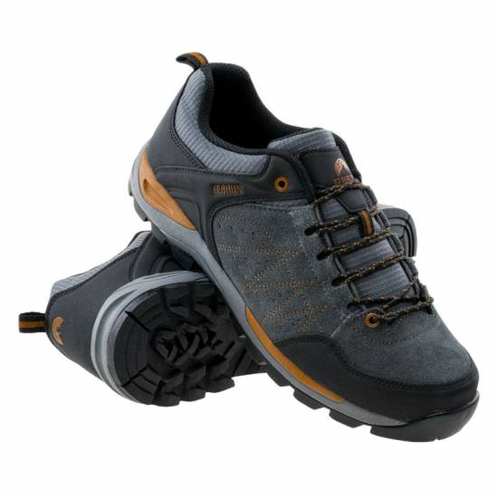 Pantofi pentru barbati ELBRUS Debar, Gri inchis
