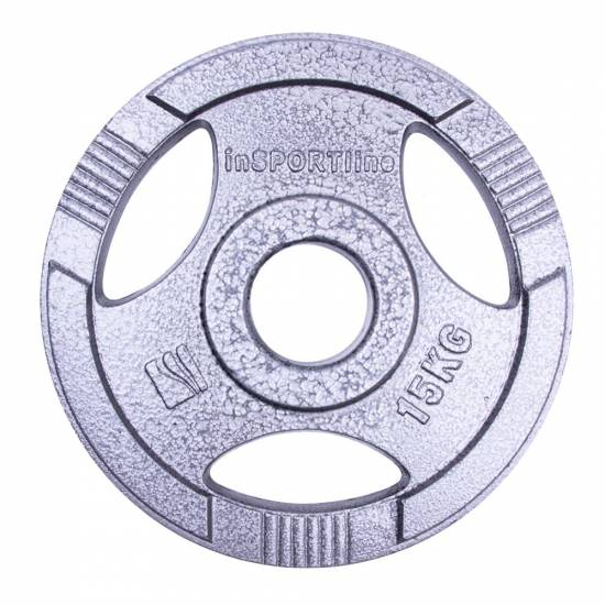 Disc de fonta Olimpic inSPORTline Hamerton 15 kg