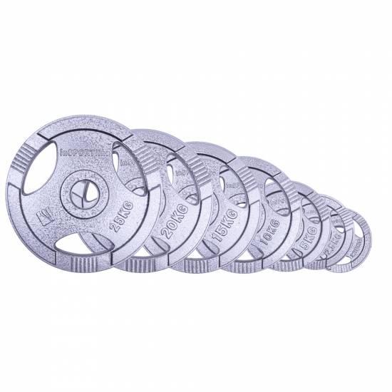 Disc de fonta Olimpic inSPORTline Hamerton 2,5 kg