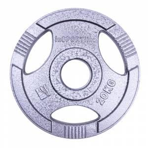 Disc de fonta Olimpic inSPORTline Hamerton 20 kg