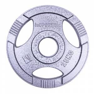 Disc de fonta Olimpic inSPORTline Hamerton 25 kg