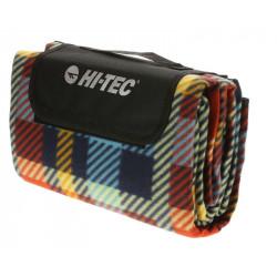 Patura pentru picnic HI-TEC Piqnic Blanket, Albastru/Rosu