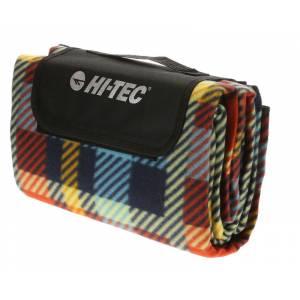Pătură pentru picnic HI-TEC Piqnic Blanket, Albastru/Roșu