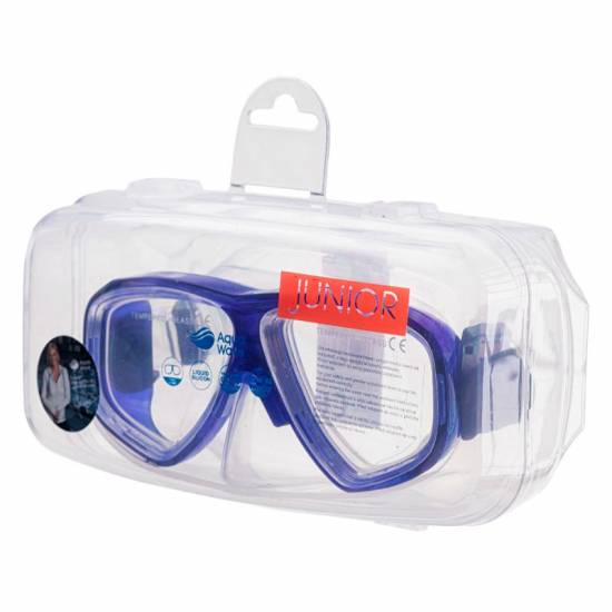Masca de scufundari copii AQUAWAVE Saphir JR, Albastru