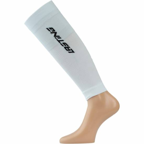 Jambiere compresive gamba LASTING RCC, Alb