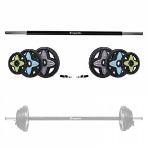 Set de greutati inSPORTline Pumpstar 2-20 kg.