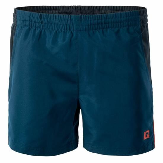 Pantaloni scurți pentru bărbați IQ Silmo, Bleo/Carbon