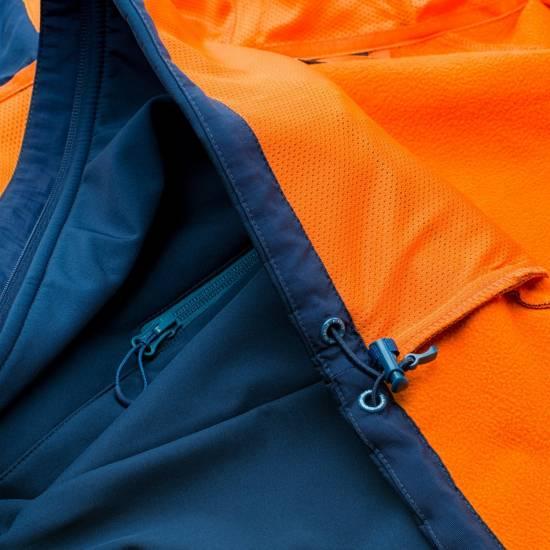 Jacheta softshell pentru barbati ELBRUS Sogne, Albastru