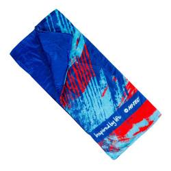 Sac de dormit pentru copii HI-TEC Nino, Albastru/Roșu