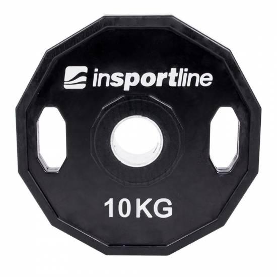 Greutate cauciucata Olympic inSPORTline Ruberton 10kg