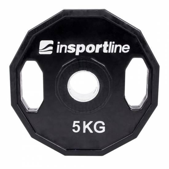 Greutate cauciucata Olympic inSPORTline Ruberton 5kg