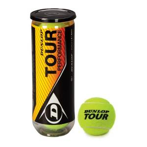 Mingi de tenis de camp Dunlop Tour Performent 3-er