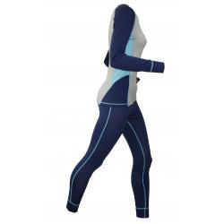 Costum termoactiv dama HI-TEC Lady Alpine Set, Albastru