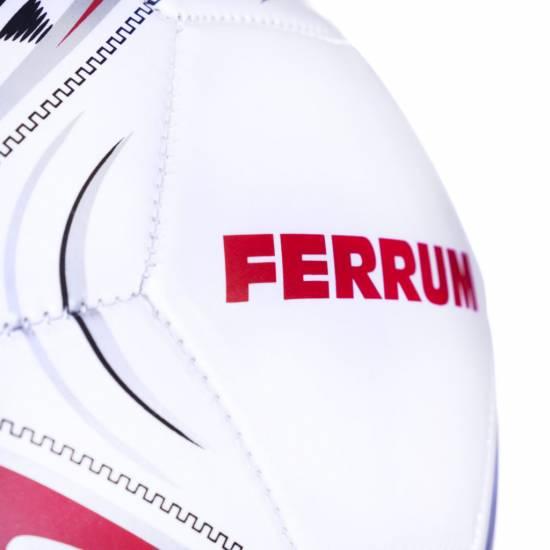Minge fotbal SPOKEY Ferrum, Alb / Rosu