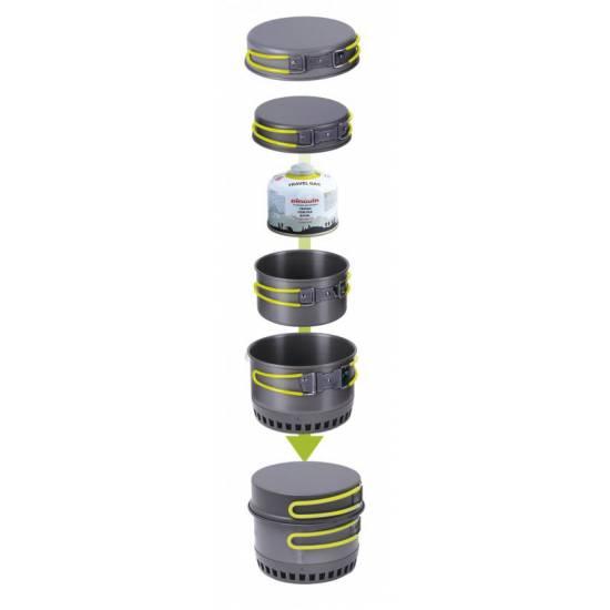 Set de vase din aluminiu PINGUIN Quadri X