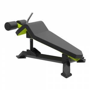 Banca inclinata pentru abdomene ABS  THD Fitness TITAN