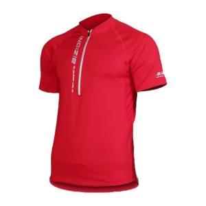 Tricou ciclism BIZIONI MD22 - Rosu