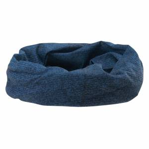 Esarfa-prosop HI-TEC Temi, Blue Denim Print