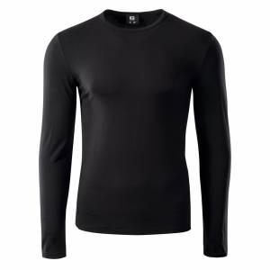 Bluza sport pentru barbati IQ Milky, Neagra