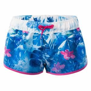 Pantaloni scurti de femei AQUAWAVE Raisa, Albastru / Roz