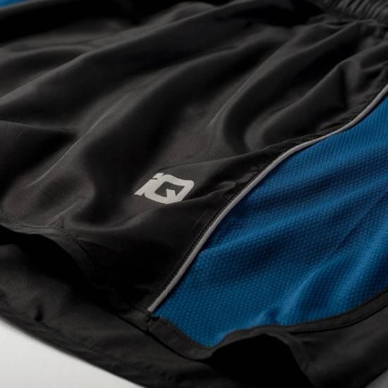 Pantaloni scurti pentru barbati IQ Womo, Negru / Albastru